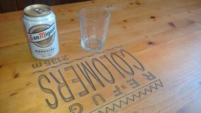 Una cerveza en el Refugi Colomérs