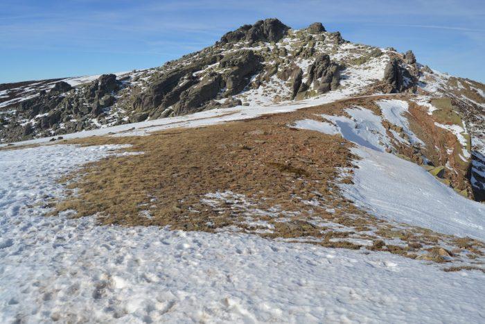 Pico Urbión desde el Portillo Arenoso