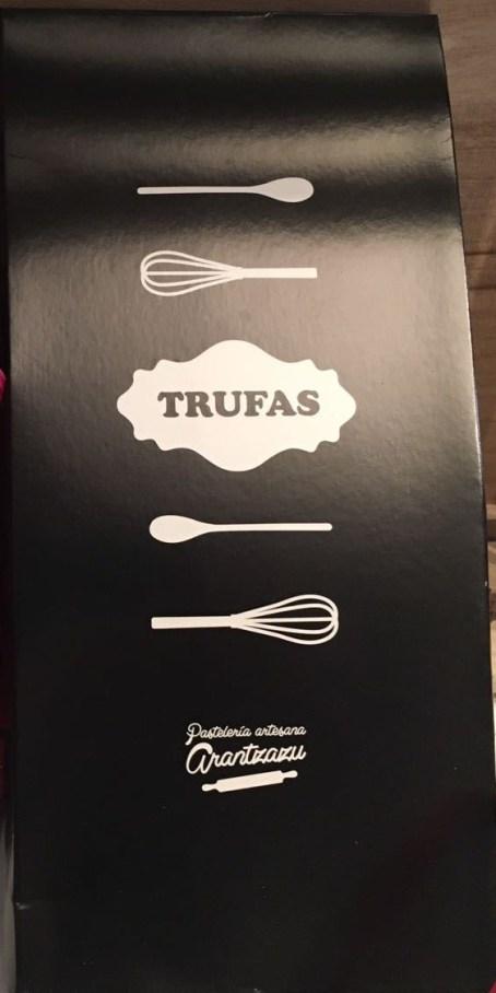 Trufas de la Pastelería Arantzazu