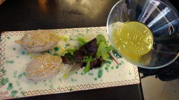 Paté de Perdiz con quínoa real y mermelada de aceite virgen extra