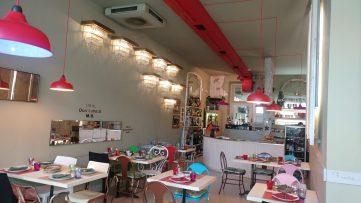 Comedor superior del Restaurante Arima