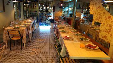 Comedor inferior del Restaurante Arima