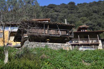 Hórreos en Villanueva
