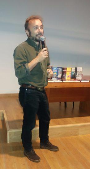 Javier San Román, director de cine