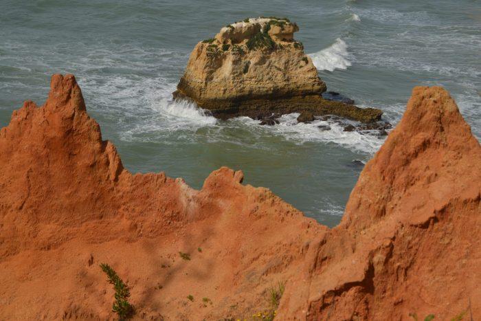 Roca en el mar