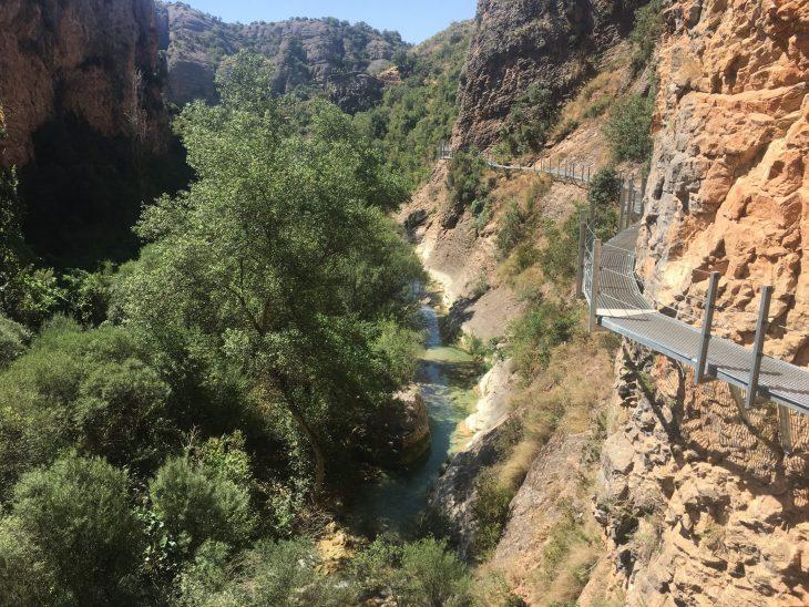 Vistas del Cañón del río Vero
