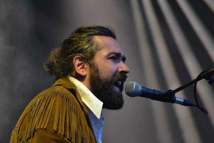 Julián Maeso en el Mundaka Festival