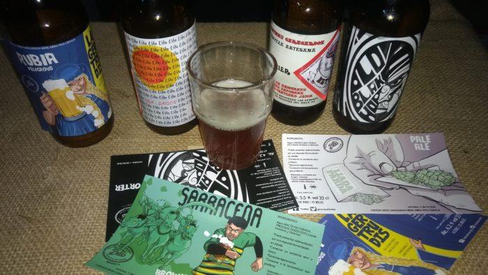 Etiquetas y Cervezas artesanas de Tito Blas