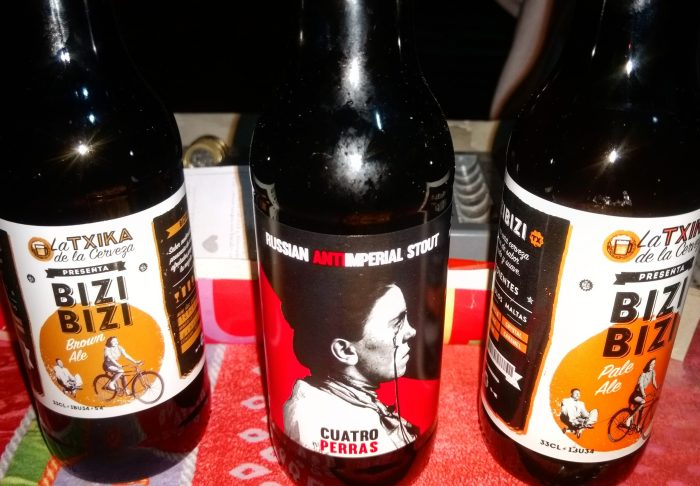 Cervezas artesanas de La Txika de la cerveza