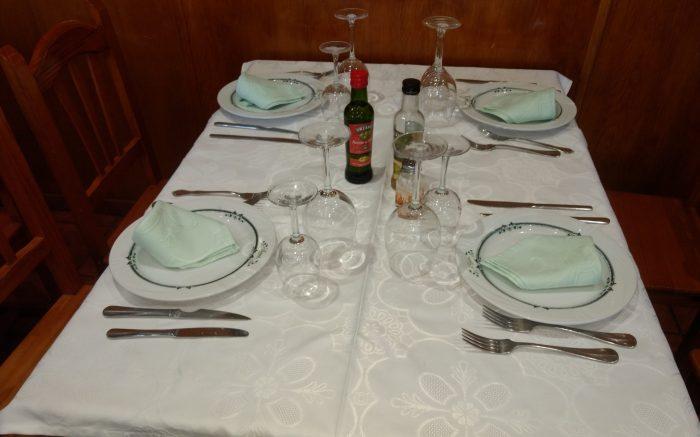 Comedor del Restaurante Gema de Navaluenga