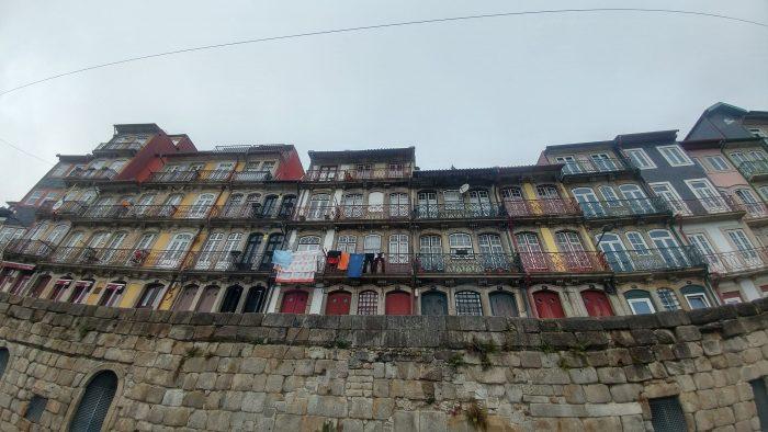 Edificios del Barrio de Ribeira