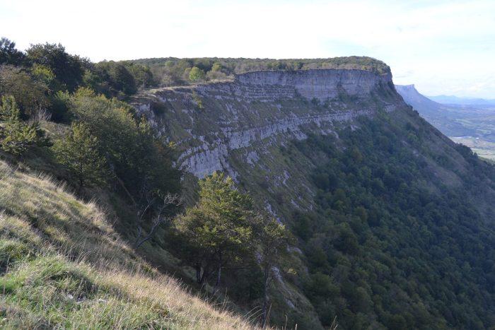 Senda del Cortado en Monte Santiago