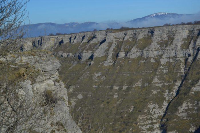 Monte Gorbeia desde la Senda del Cortado