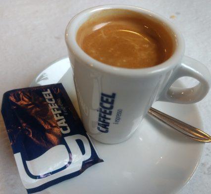 Café cortado o pingado