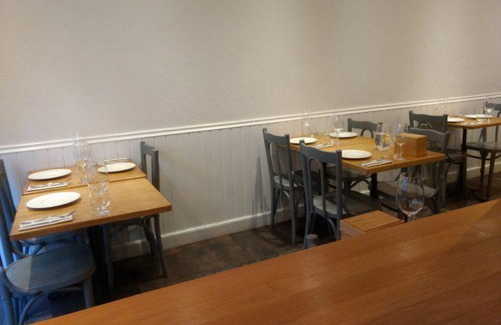 Comedor del Restaurante Al Margen de Bilbao