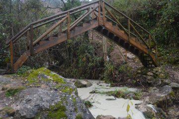 Puente de la Senda del río Cerezuelo