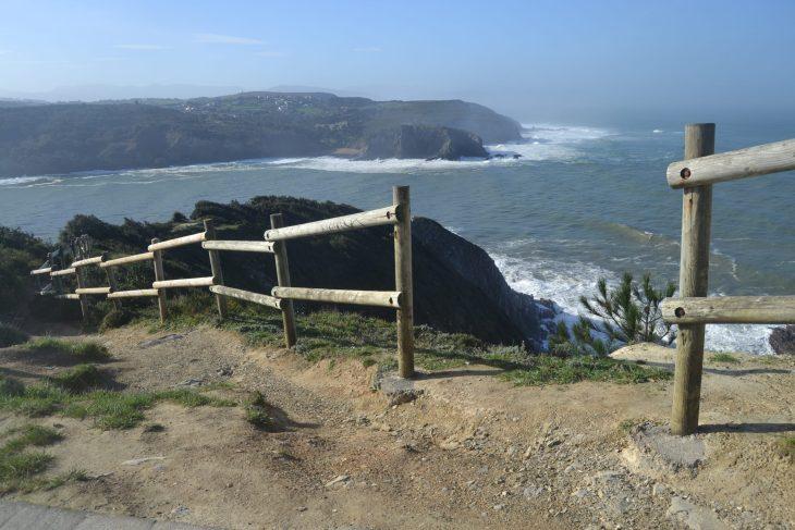 Astondo Punta y la costa de Barrika