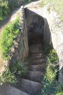 Accesos al bunker de Gorliz