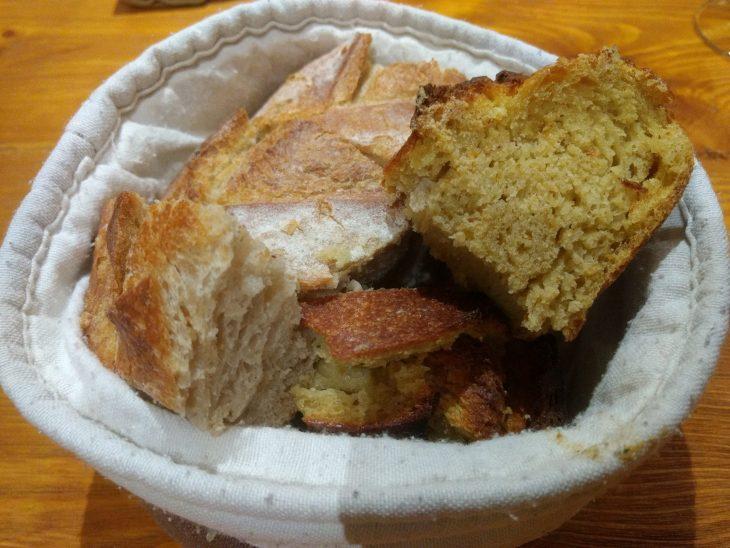 Pan de trigo y maíz de Gure Ogia