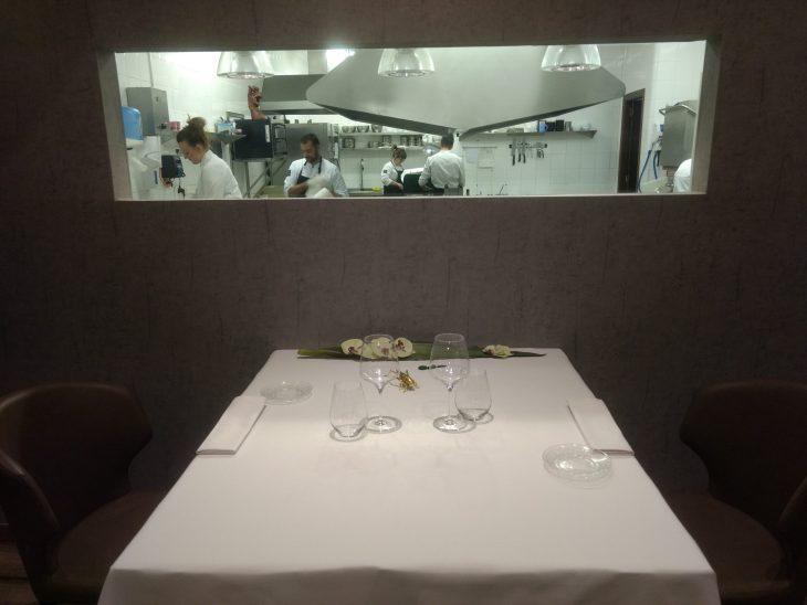 Cocina y comedor del Ergo Restaurante