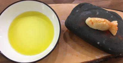 AOVE y mantequilla casera