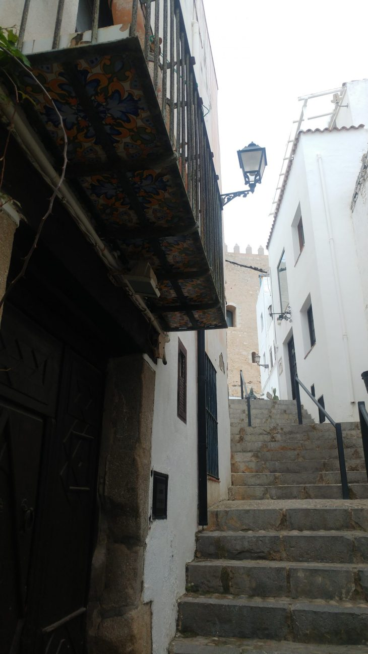 Calles de Peñiscola