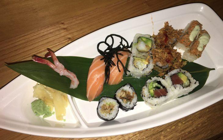Combinado de sushi