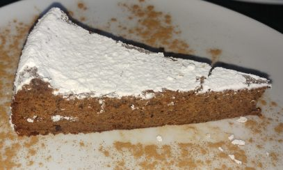 Tarta de Algarroba