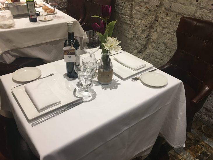 Comedor del Restaurante Amaren de Bilbao