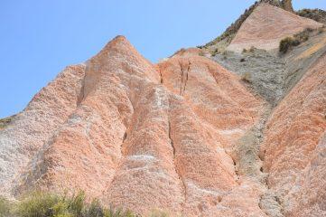 Formaciones geológicas en forma de tetillas