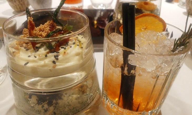 Gastro Cocktail del Restaurante Yandiola de Bilbao