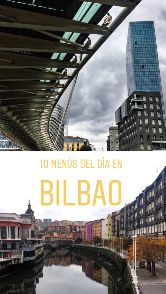 10 Menús del día en Bilbao