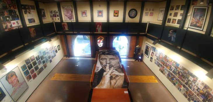 Exposición de David Bowie en Avilés