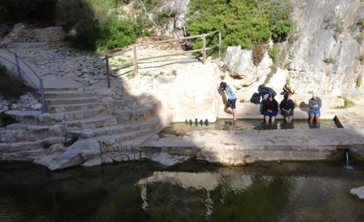 Aguas termales del Balneario de la Fontcalda