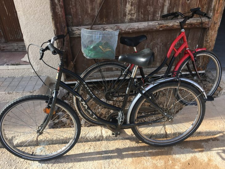 Bicicletas alquiladas en Sgambi