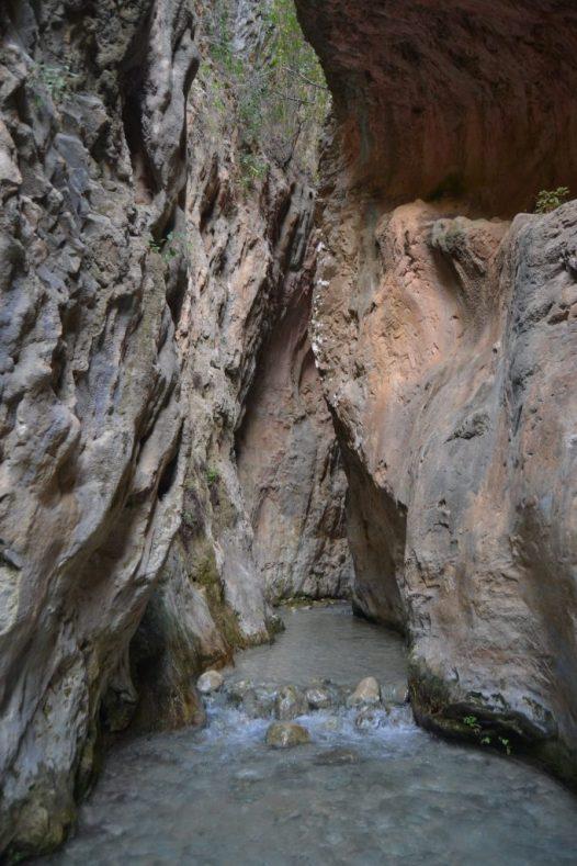 Cahorros del Río Chillar en Nerja