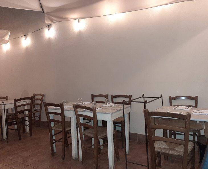Comedor del Restaurante La Botteghina