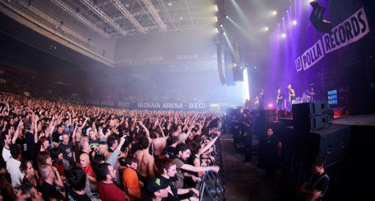 El público vibró con La Polla Records