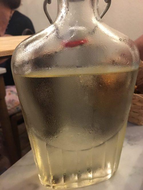 Vino blanco vermentino