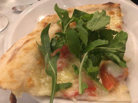 Pizza del Restaurante La Botteghina de Alghero
