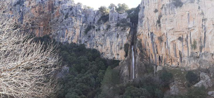Ruta fácil de la Cerrada del Utrero en Sierra de Cazorla