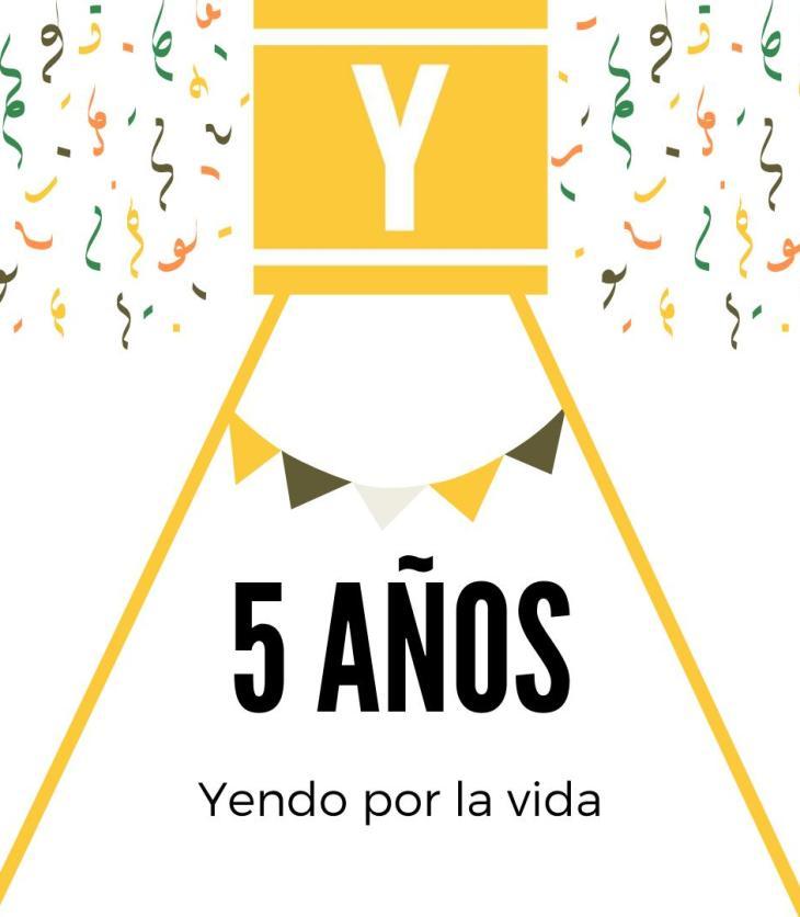 5º Aniversario de Yendo por la vida