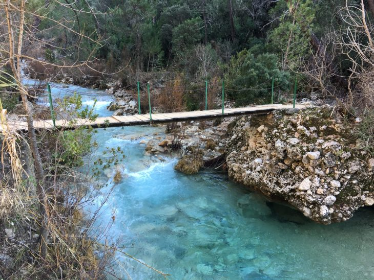 Río Borosa en la Sierra de Cazorla