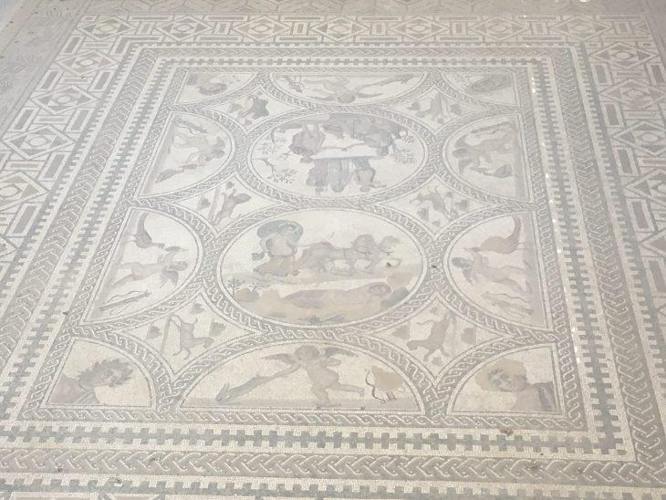 Mosaico de los Amores de Cástulo