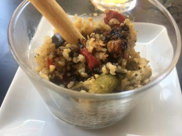 Tapa de Quinoa con verduritas