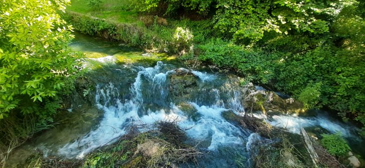 Río Inglares en Berganzo