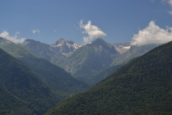 Vistas del Aneto desde Vilamós
