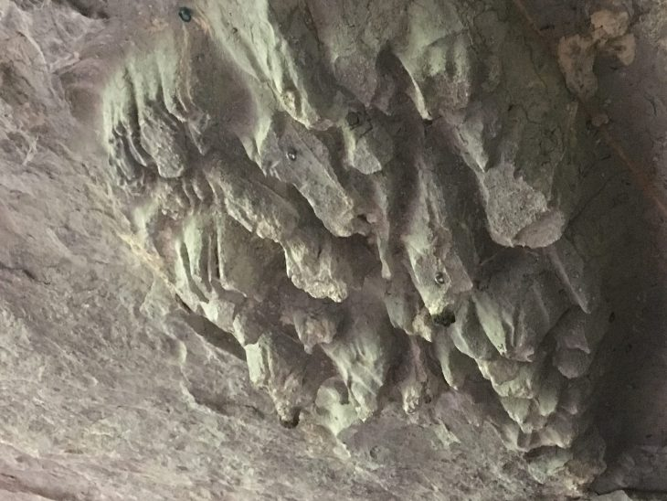 Techo de las Cuevas de Baltzola