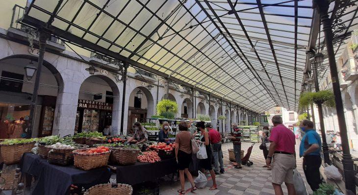 Mercado de la Plaza de la Verdura de Tolosa