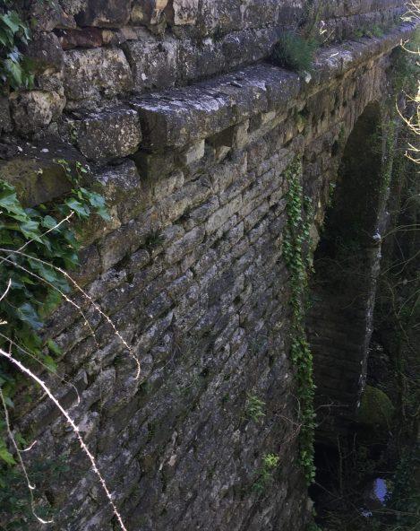 Viaducto sobre el arroyo Oiardo